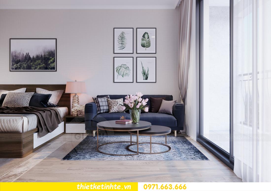 thiết kế nội thất căn hộ Soho tòa C5 căn 12 Vinhomes D Capitale 06