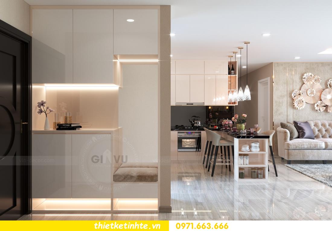 thiết kế nội thất chung cư hiện đại tòa C6 căn 03 View 1