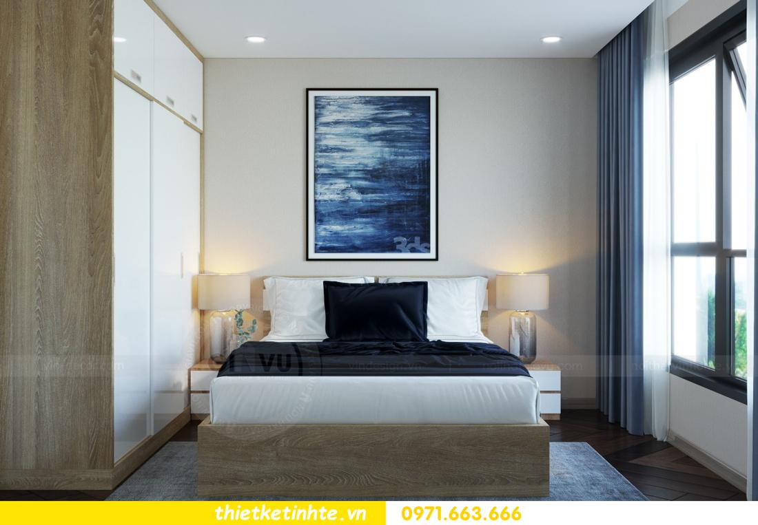 thiết kế nội thất chung cư hiện đại tòa C6 căn 03 View10