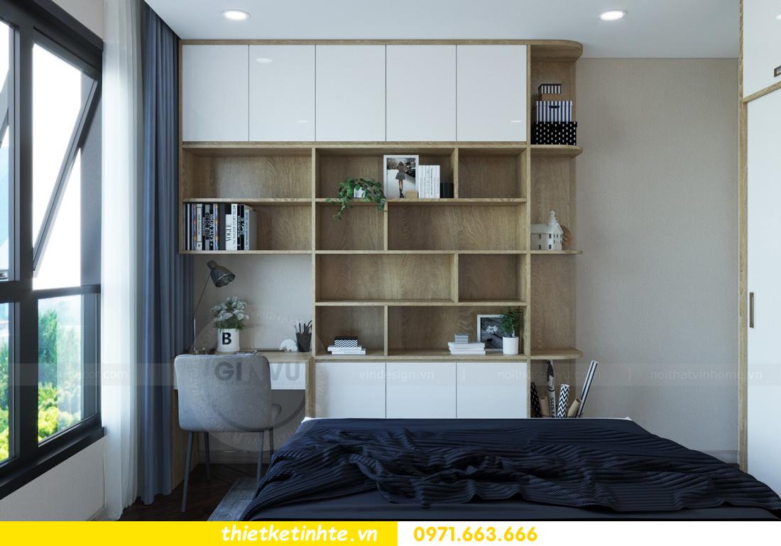 thiết kế nội thất chung cư hiện đại tòa C6 căn 03 View11