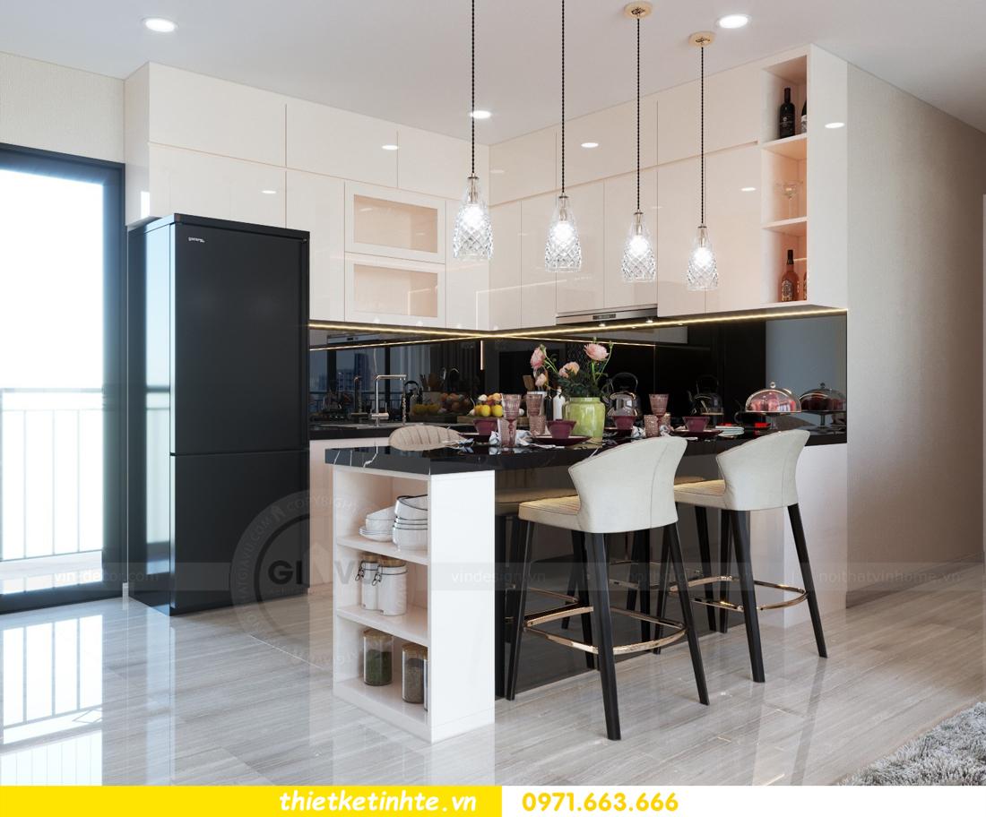 thiết kế nội thất chung cư hiện đại tòa C6 căn 03 View 2