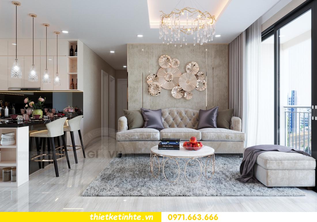 thiết kế nội thất chung cư hiện đại tòa C6 căn 03 View 3