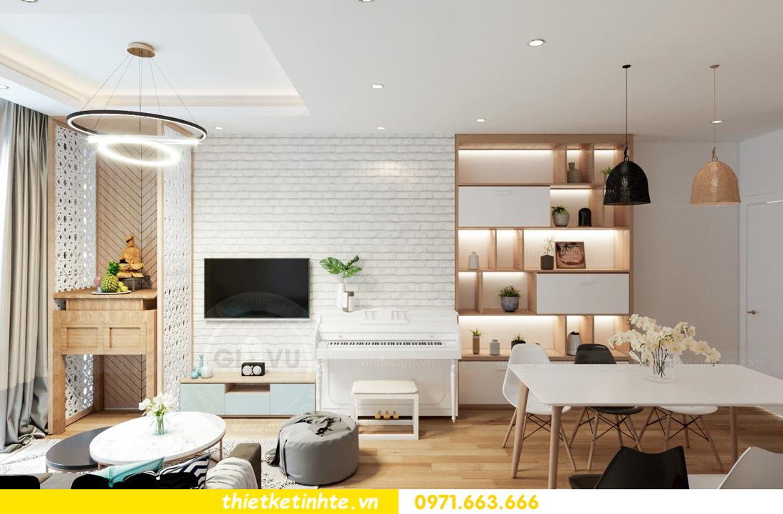 thiết kế nội thất chung cư Skylake tòa S2 căn 11 nhà anh Trường 02