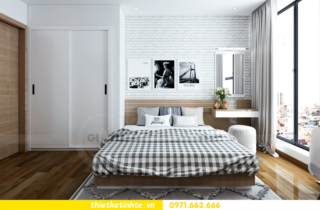 thiết kế nội thất chung cư Skylake tòa S2 căn 11 nhà anh Trường 07