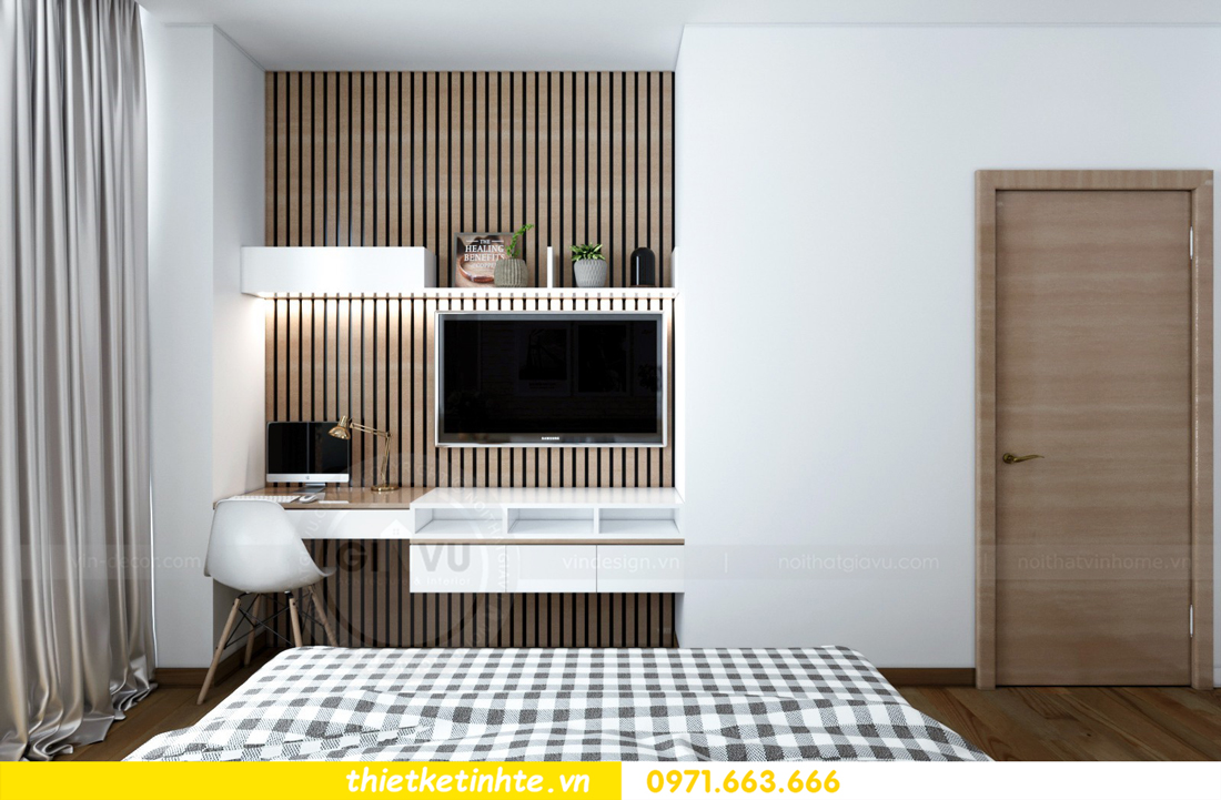 thiết kế nội thất chung cư Skylake tòa S2 căn 11 nhà anh Trường 09