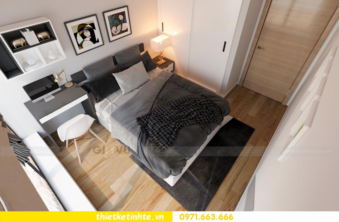 thiết kế nội thất chung cư Skylake tòa S2 căn 11 nhà anh Trường 11