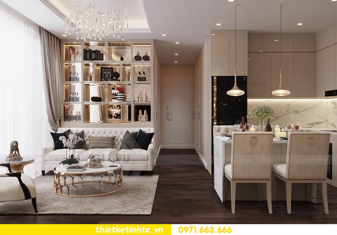 thiết kế nội thất chung cư Vinhomes D Capitale tòa C1 căn 10 - chị Bun 02