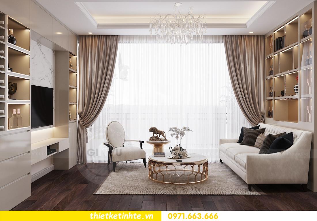 thiết kế nội thất chung cư Vinhomes D Capitale tòa C1 căn 10 - chị Bun 04