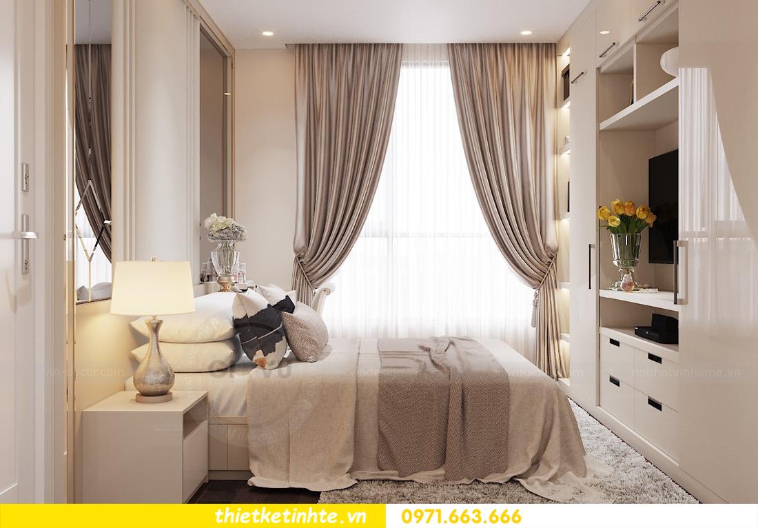 thiết kế nội thất chung cư Vinhomes D Capitale tòa C1 căn 10 - chị Bun 05