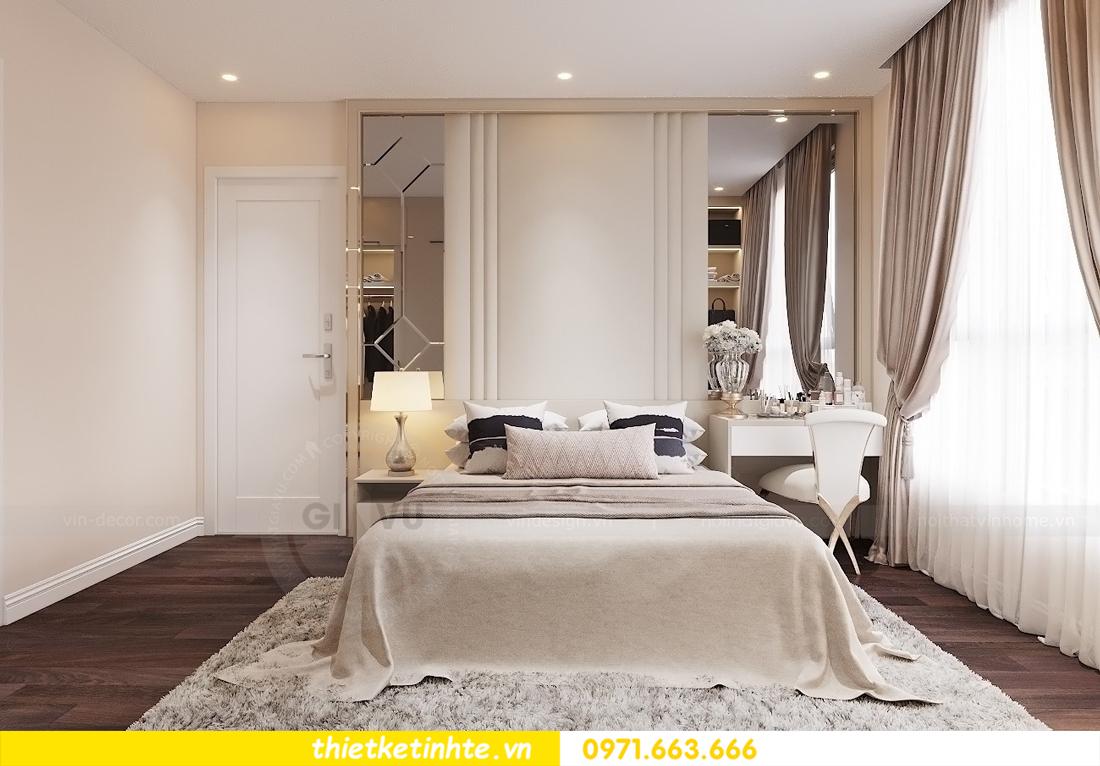 thiết kế nội thất chung cư Vinhomes D Capitale tòa C1 căn 10 - chị Bun 06