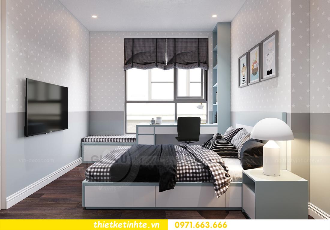 thiết kế nội thất chung cư Vinhomes D Capitale tòa C1 căn 10 - chị Bun 08