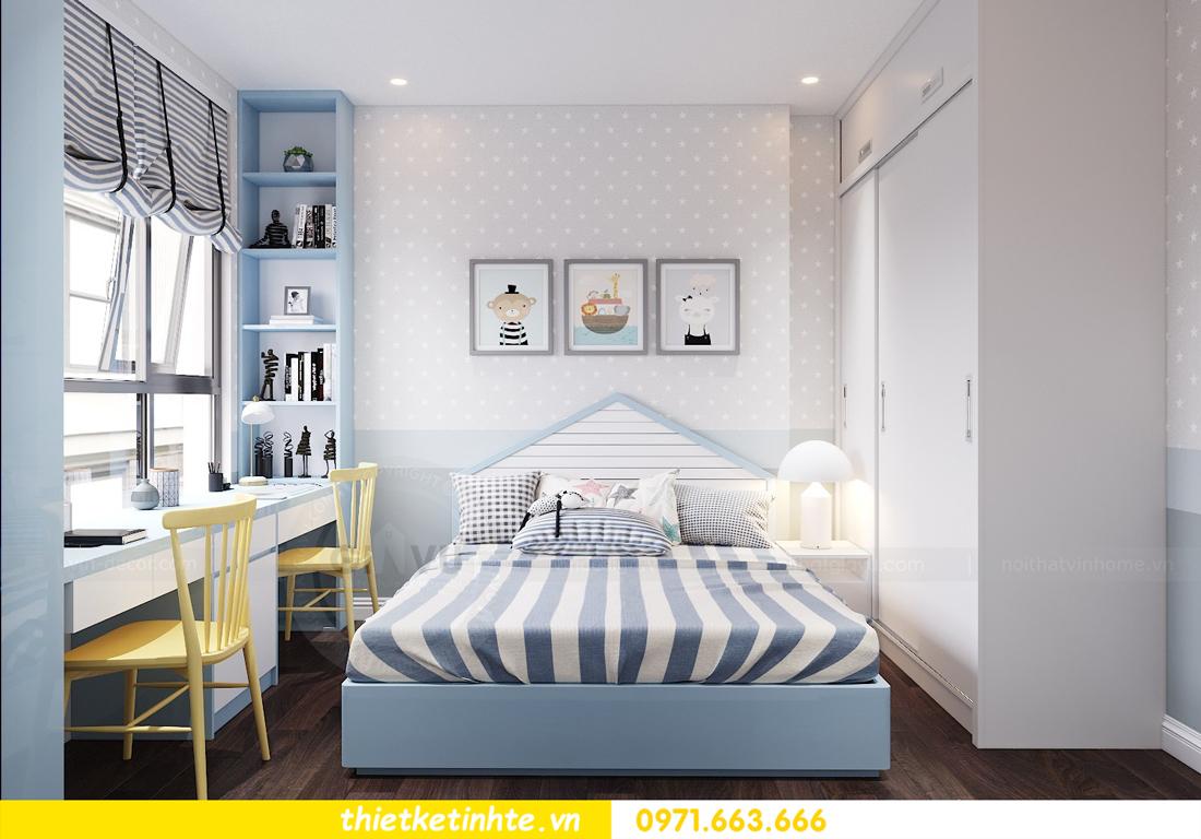 thiết kế nội thất chung cư Vinhomes D Capitale tòa C1 căn 10 - chị Bun 09