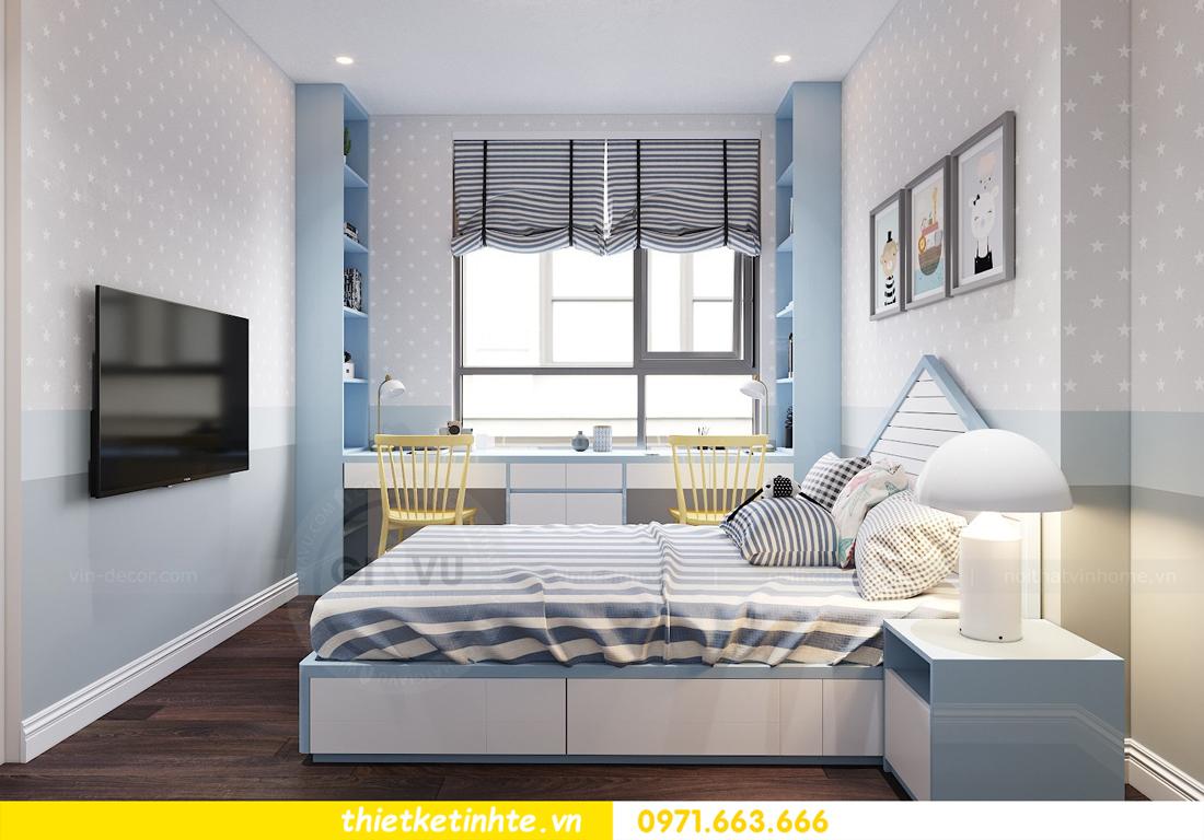 thiết kế nội thất chung cư Vinhomes D Capitale tòa C1 căn 10 - chị Bun 10