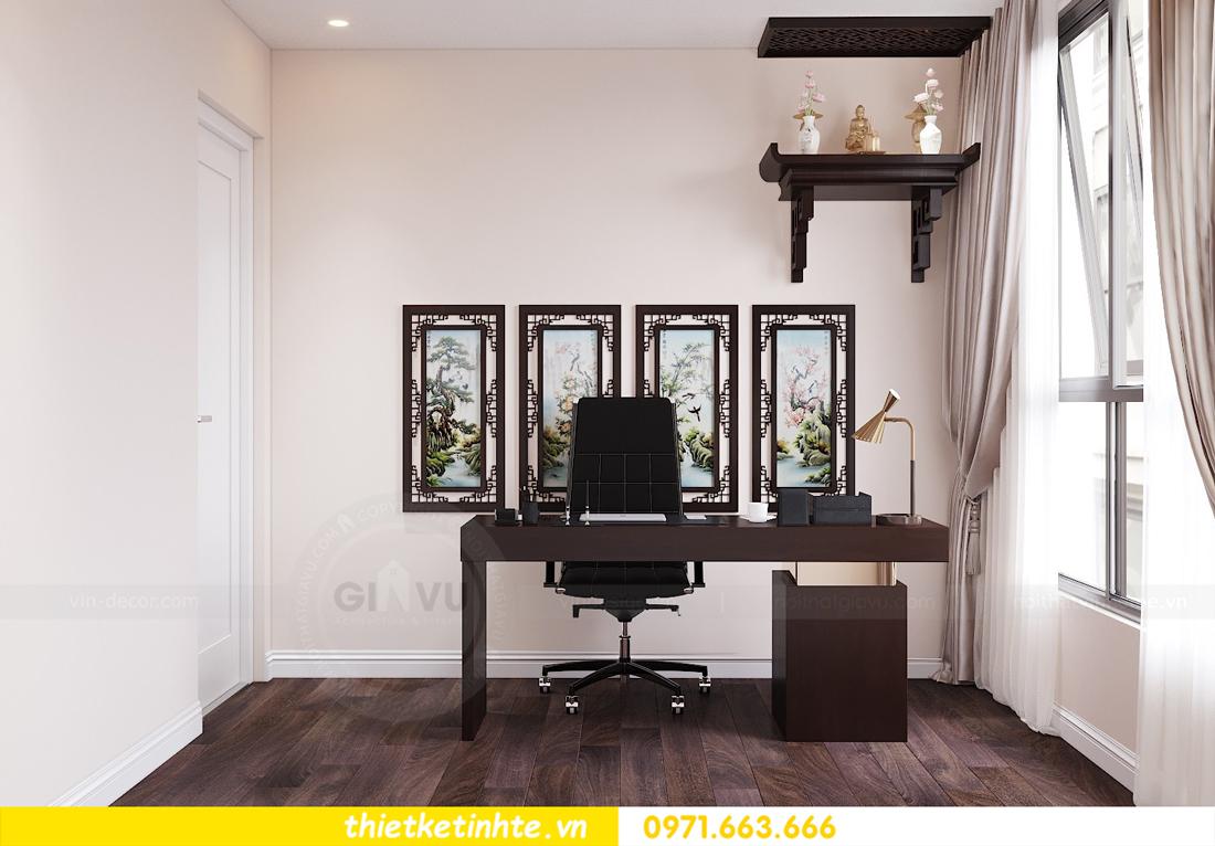 thiết kế nội thất chung cư Vinhomes D Capitale tòa C1 căn 10 - chị Bun 12