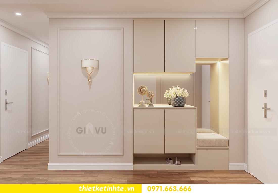 thiết kế nội thất chung cư Vinhomes Liễu Giai tòa M1-05 nhà chị Lan 01