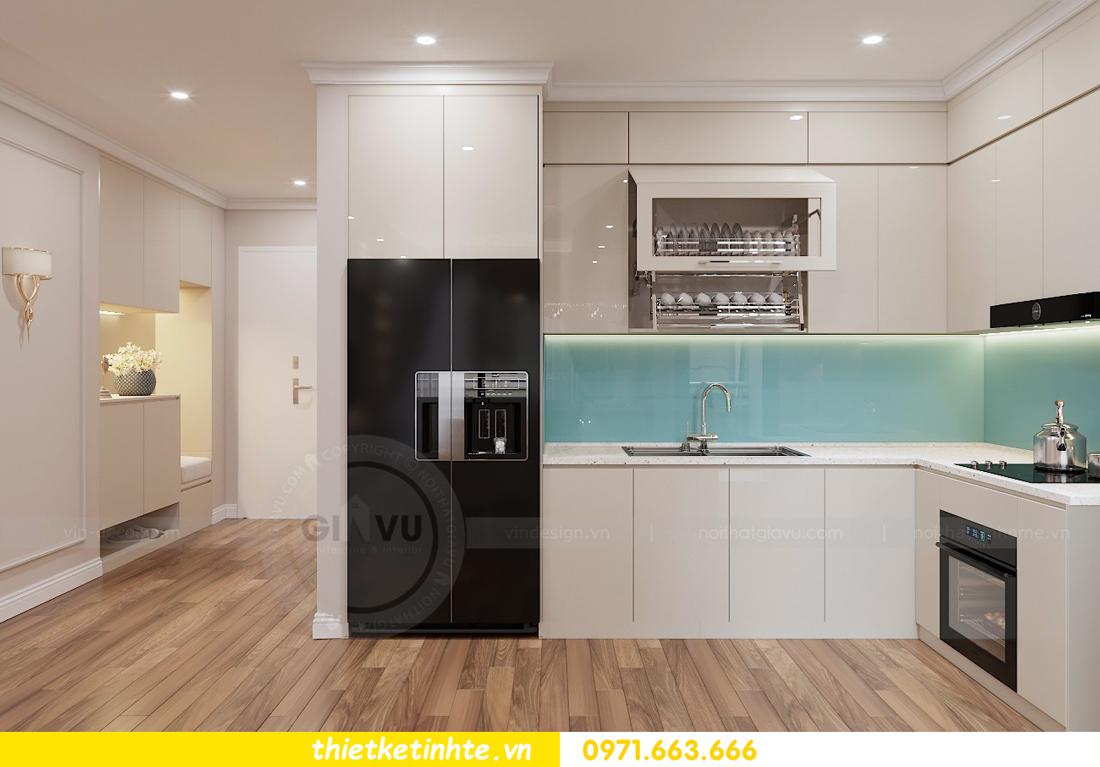 thiết kế nội thất chung cư Vinhomes Liễu Giai tòa M1-05 nhà chị Lan 02
