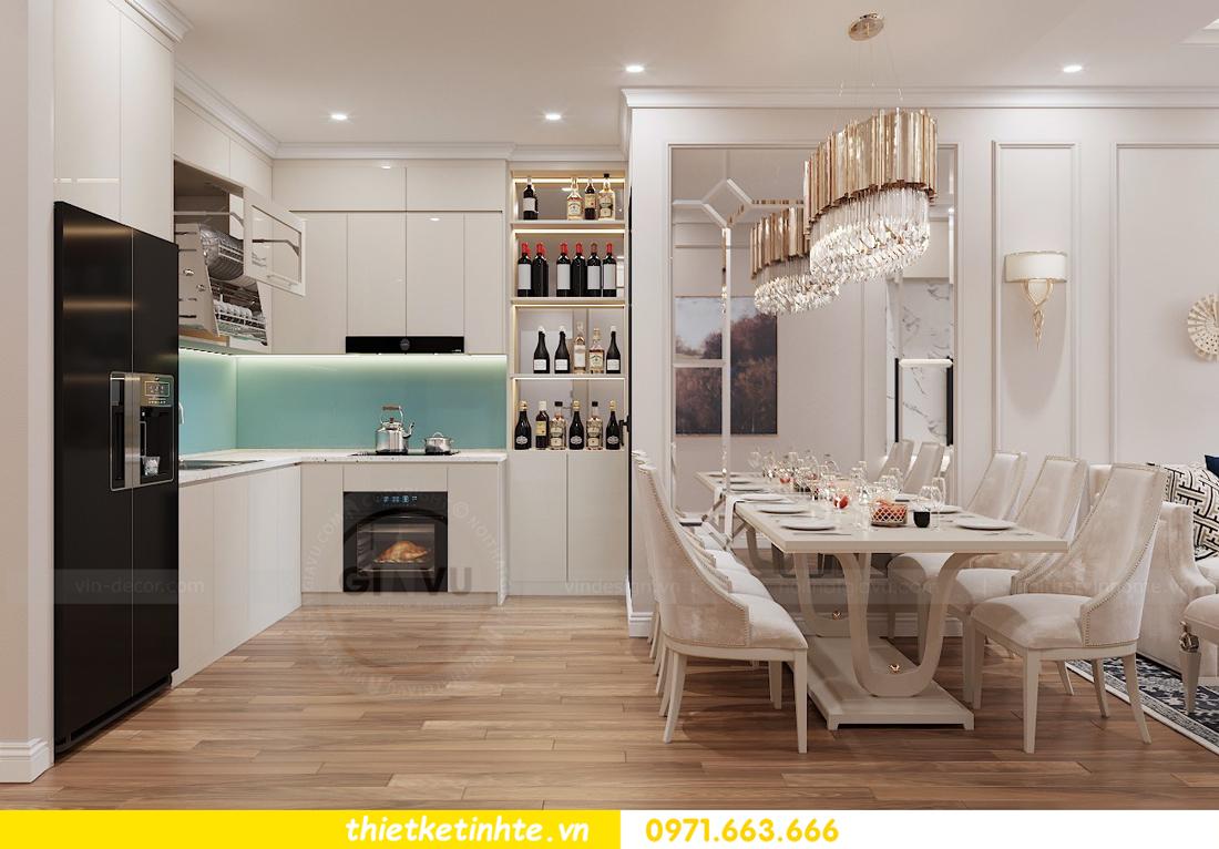 thiết kế nội thất chung cư Vinhomes Liễu Giai tòa M1-05 nhà chị Lan 03
