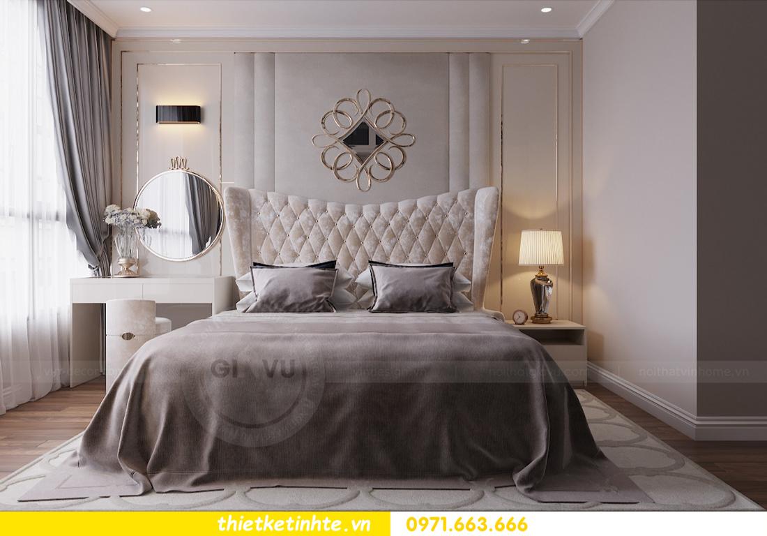 thiết kế nội thất chung cư Vinhomes Liễu Giai tòa M1-05 nhà chị Lan 06