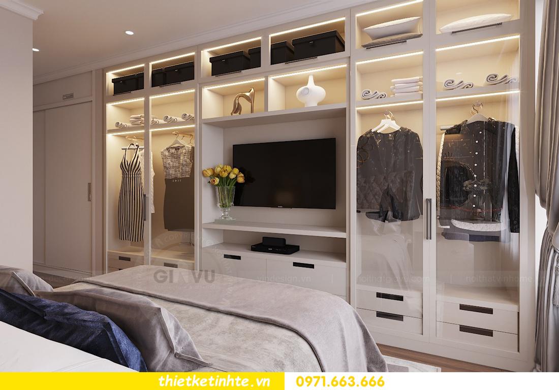 thiết kế nội thất chung cư Vinhomes Liễu Giai tòa M1-05 nhà chị Lan 07
