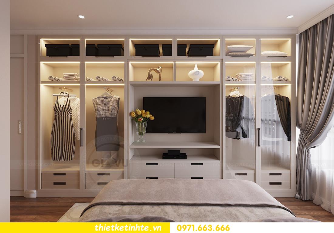 thiết kế nội thất chung cư Vinhomes Liễu Giai tòa M1-05 nhà chị Lan 08