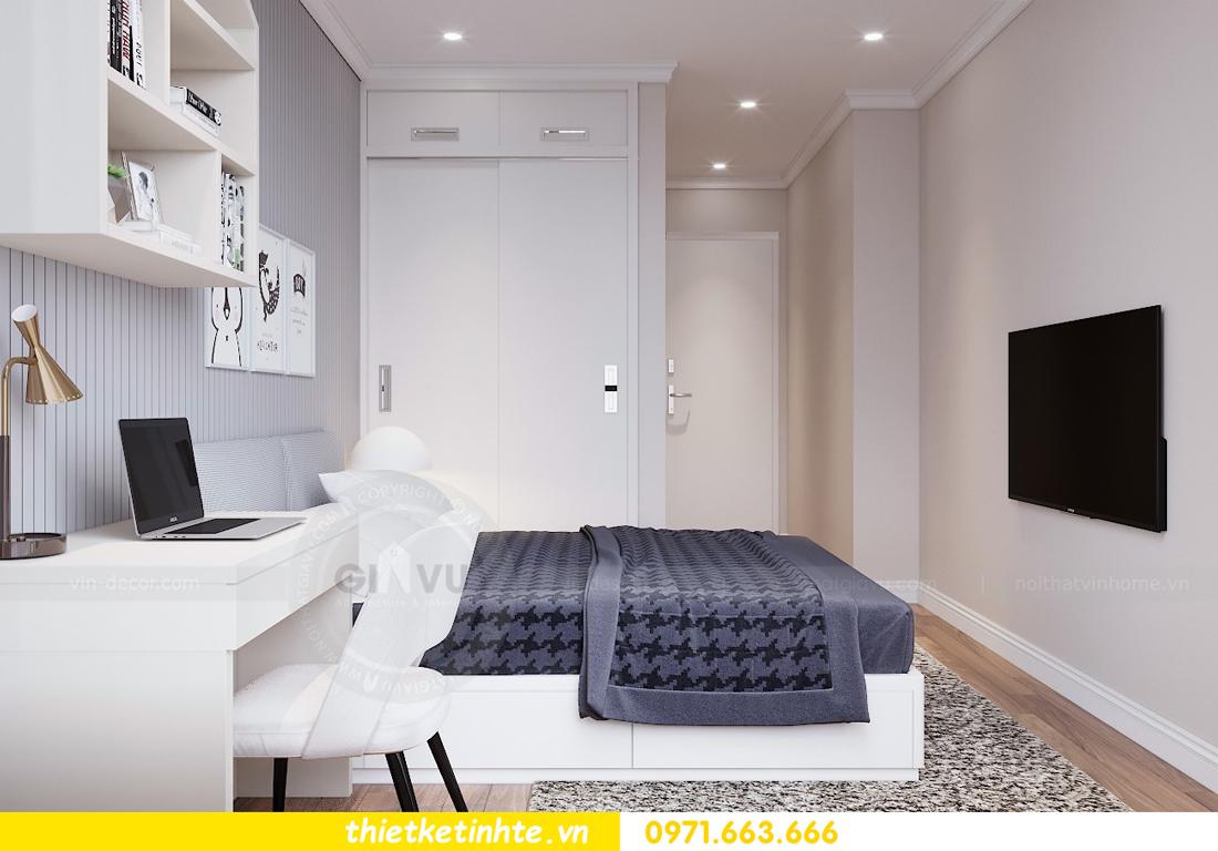 thiết kế nội thất chung cư Vinhomes Liễu Giai tòa M1-05 nhà chị Lan 10