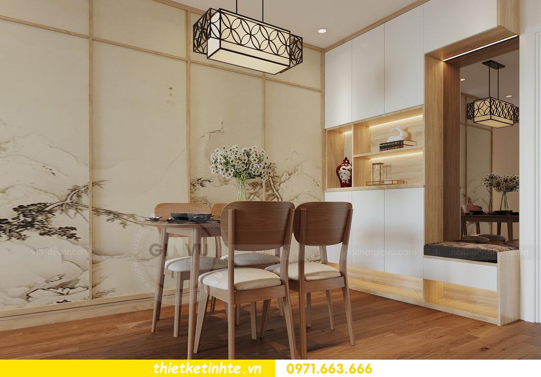 thiết kế nội thất chung cư Vinhomes Skylake theo phong cách Á Đông 01