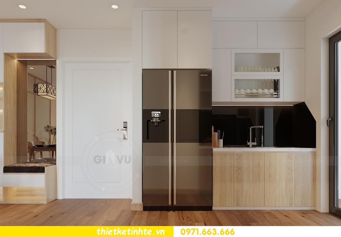 thiết kế nội thất chung cư Vinhomes Skylake theo phong cách Á Đông 03