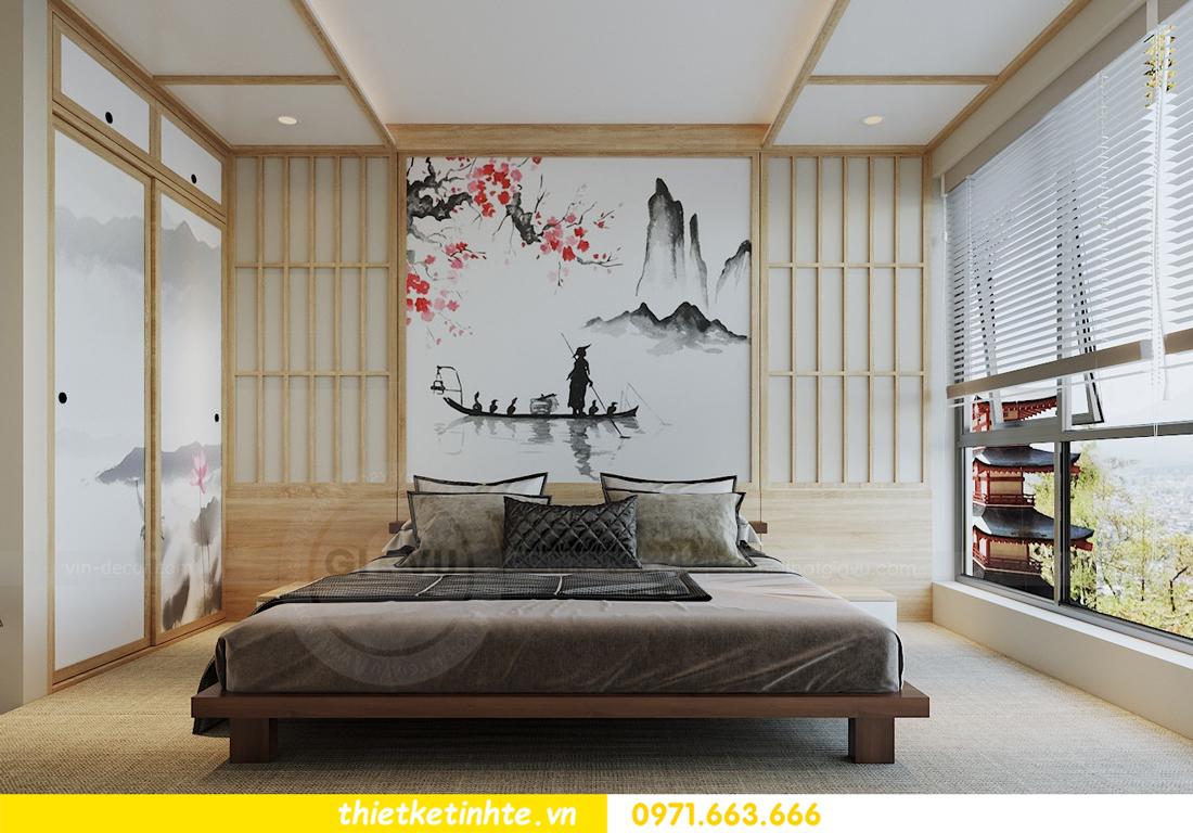 thiết kế nội thất chung cư Vinhomes Skylake theo phong cách Á Đông 09