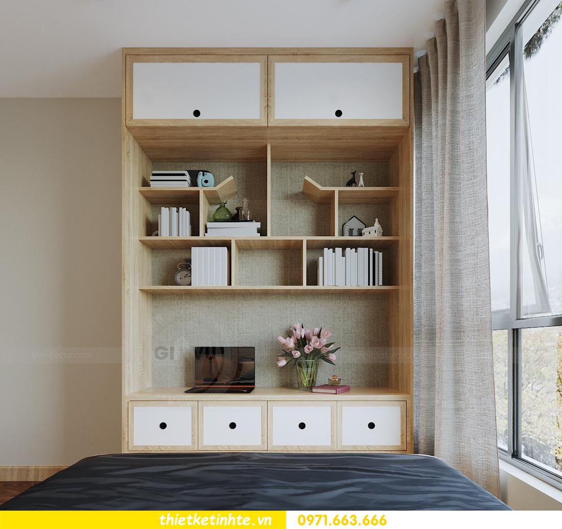 thiết kế nội thất chung cư Vinhomes Skylake theo phong cách Á Đông 12