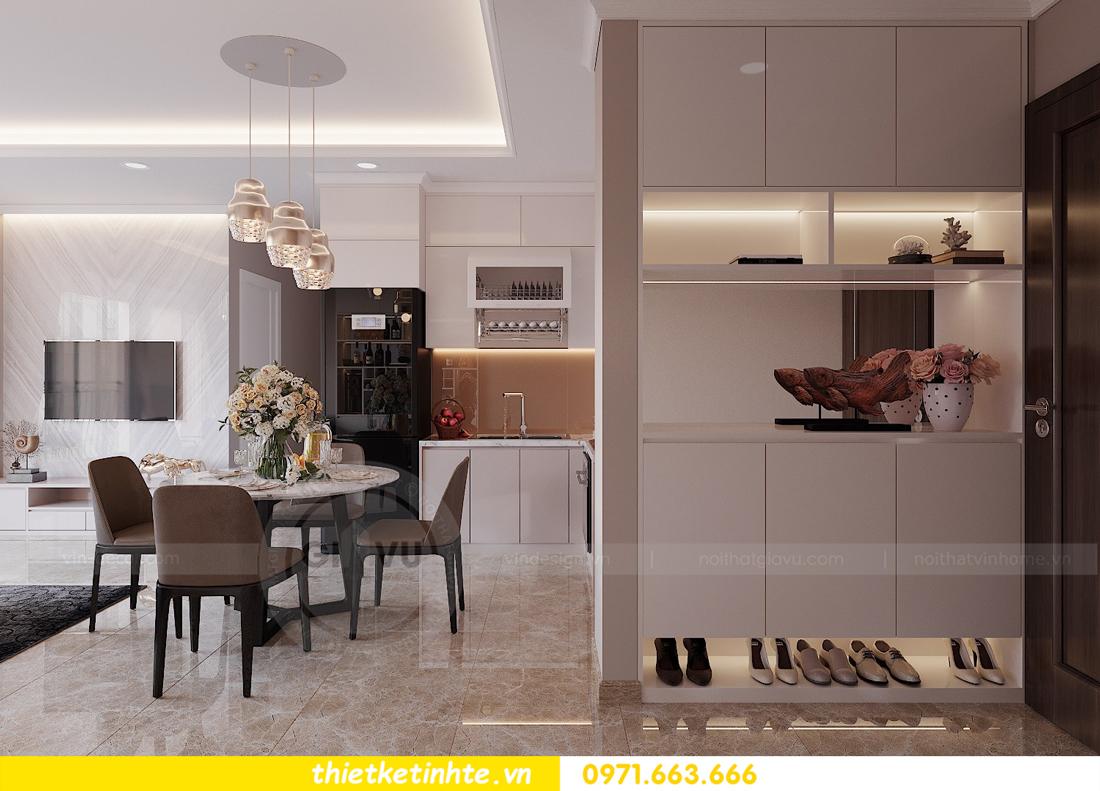 thiết kế nội thất hiện đại chung cư D Capitale tòa C1 căn 10 nhà anh Tuyên 01