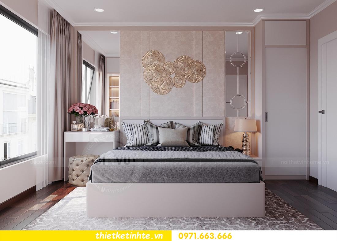 thiết kế nội thất hiện đại chung cư D Capitale tòa C1 căn 10 nhà anh Tuyên 08
