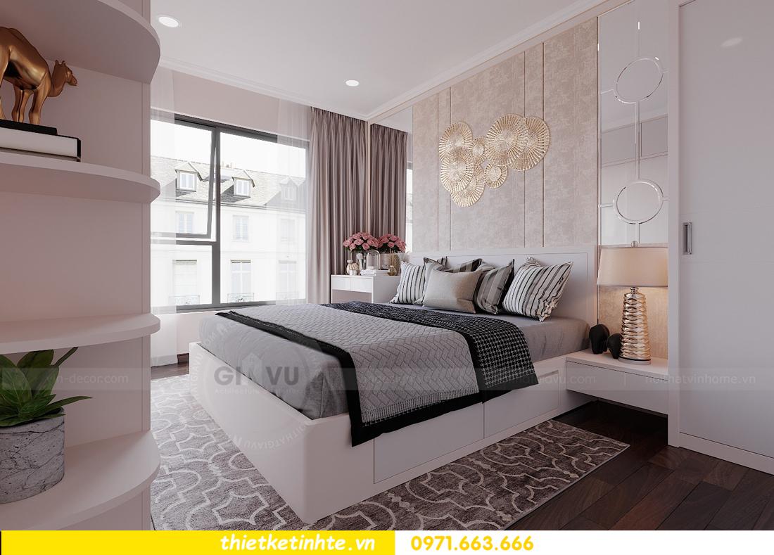 thiết kế nội thất hiện đại chung cư D Capitale tòa C1 căn 10 nhà anh Tuyên 09