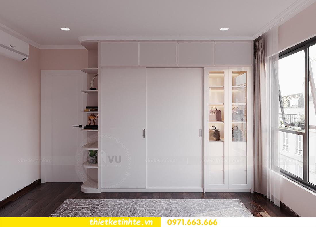 thiết kế nội thất hiện đại chung cư D Capitale tòa C1 căn 10 nhà anh Tuyên 10
