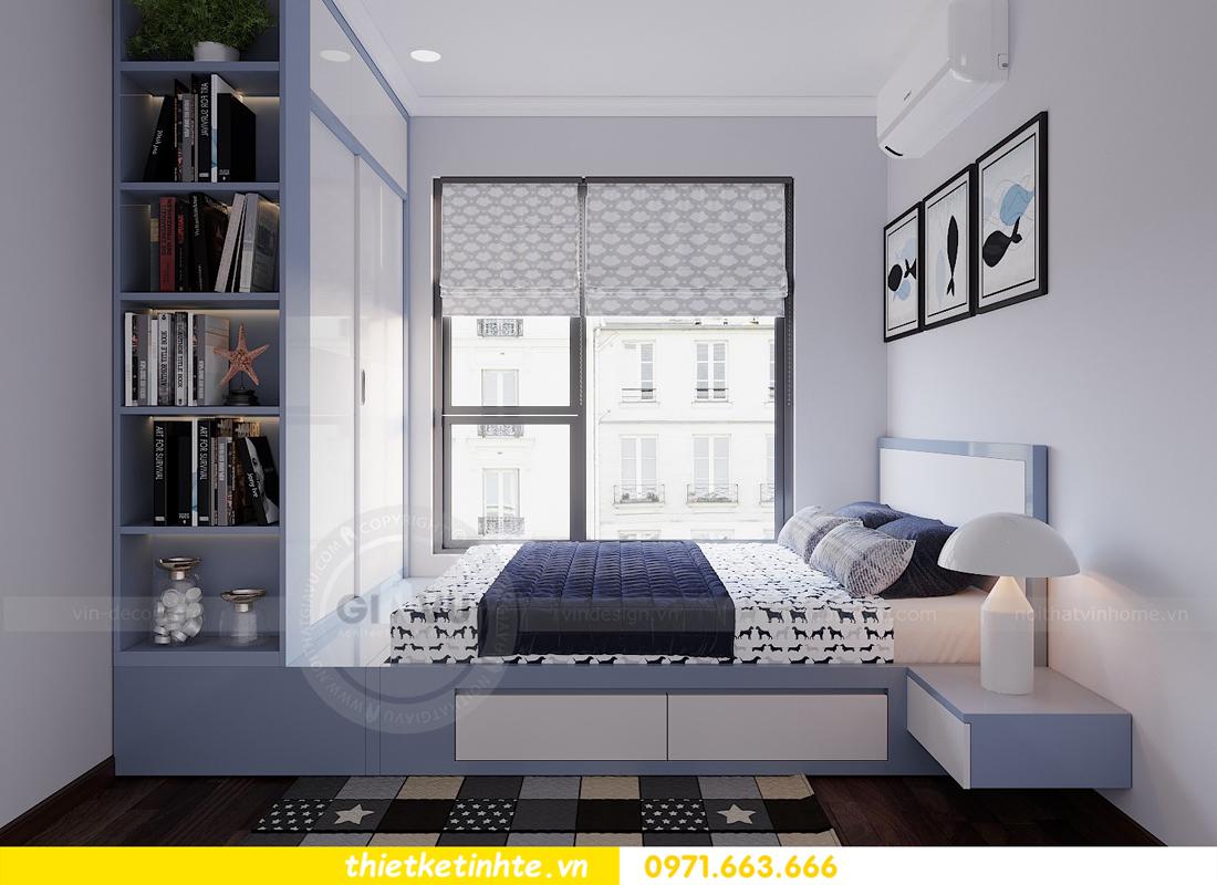 thiết kế nội thất hiện đại chung cư D Capitale tòa C1 căn 10 nhà anh Tuyên 11
