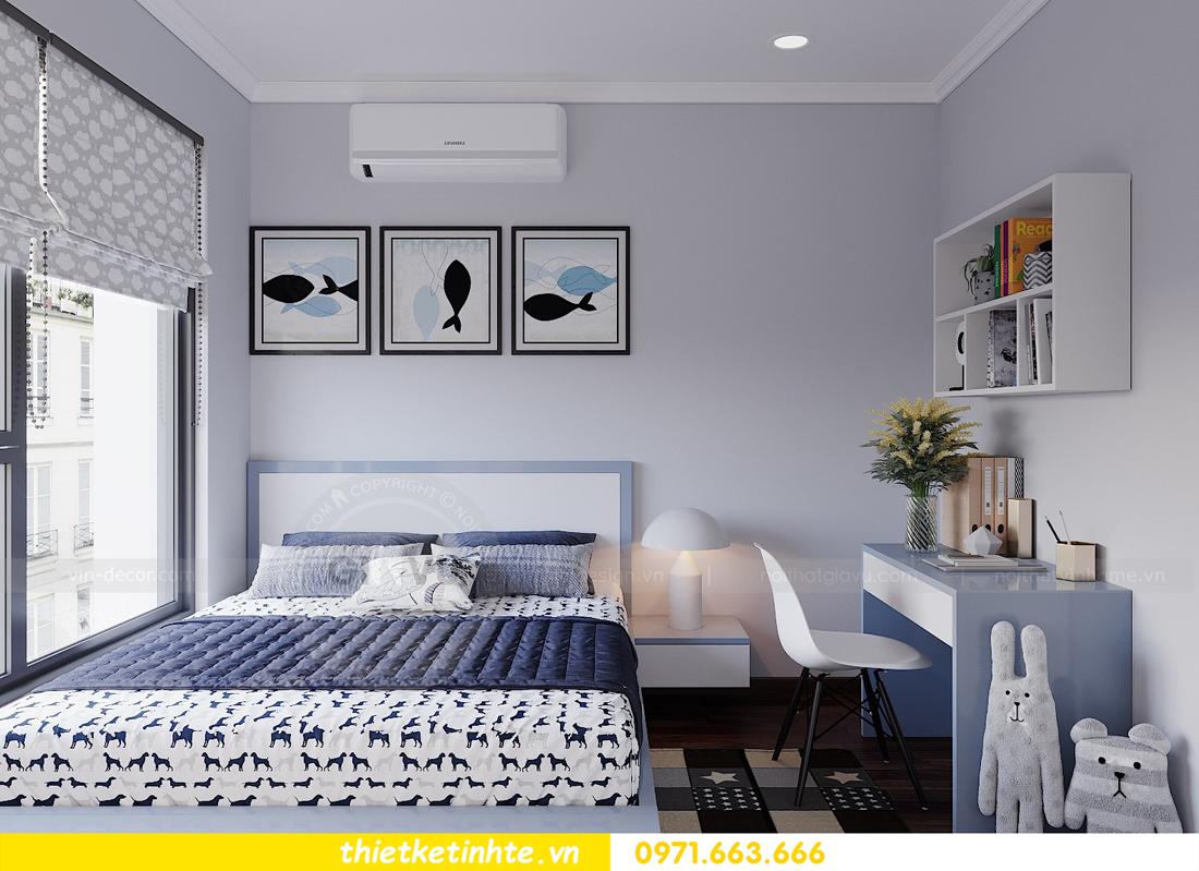 thiết kế nội thất hiện đại chung cư D Capitale tòa C1 căn 10 nhà anh Tuyên 12