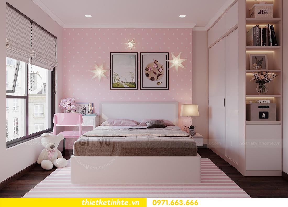 thiết kế nội thất hiện đại chung cư D Capitale tòa C1 căn 10 nhà anh Tuyên 13