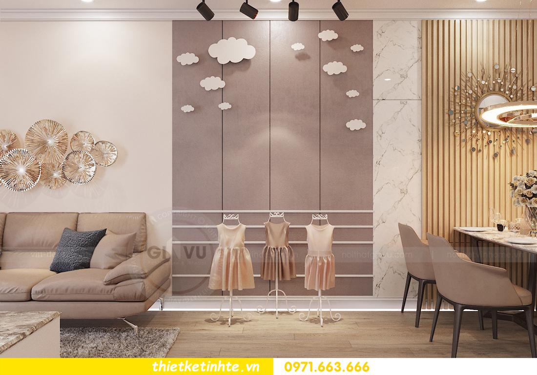 thiết kế nội thất tại chung cư Park Hill 10 căn 02 anh Tâm 03
