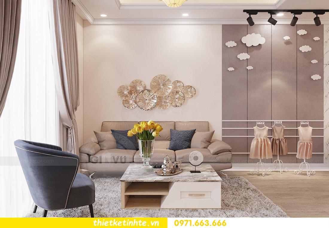 thiết kế nội thất tại chung cư Park Hill 10 căn 02 anh Tâm 04