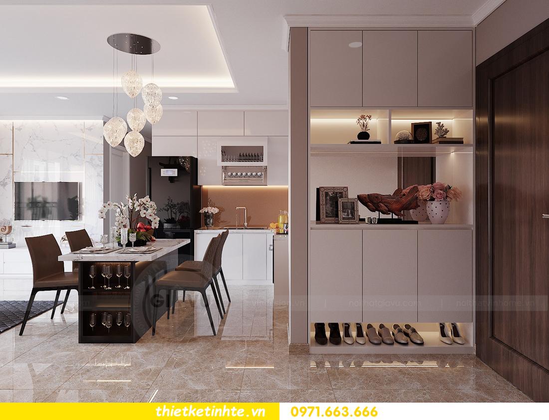 thiết kế nội thất Vinhomes DCapitale tòa C1 căn hộ 03 nhà anh Tĩnh 01