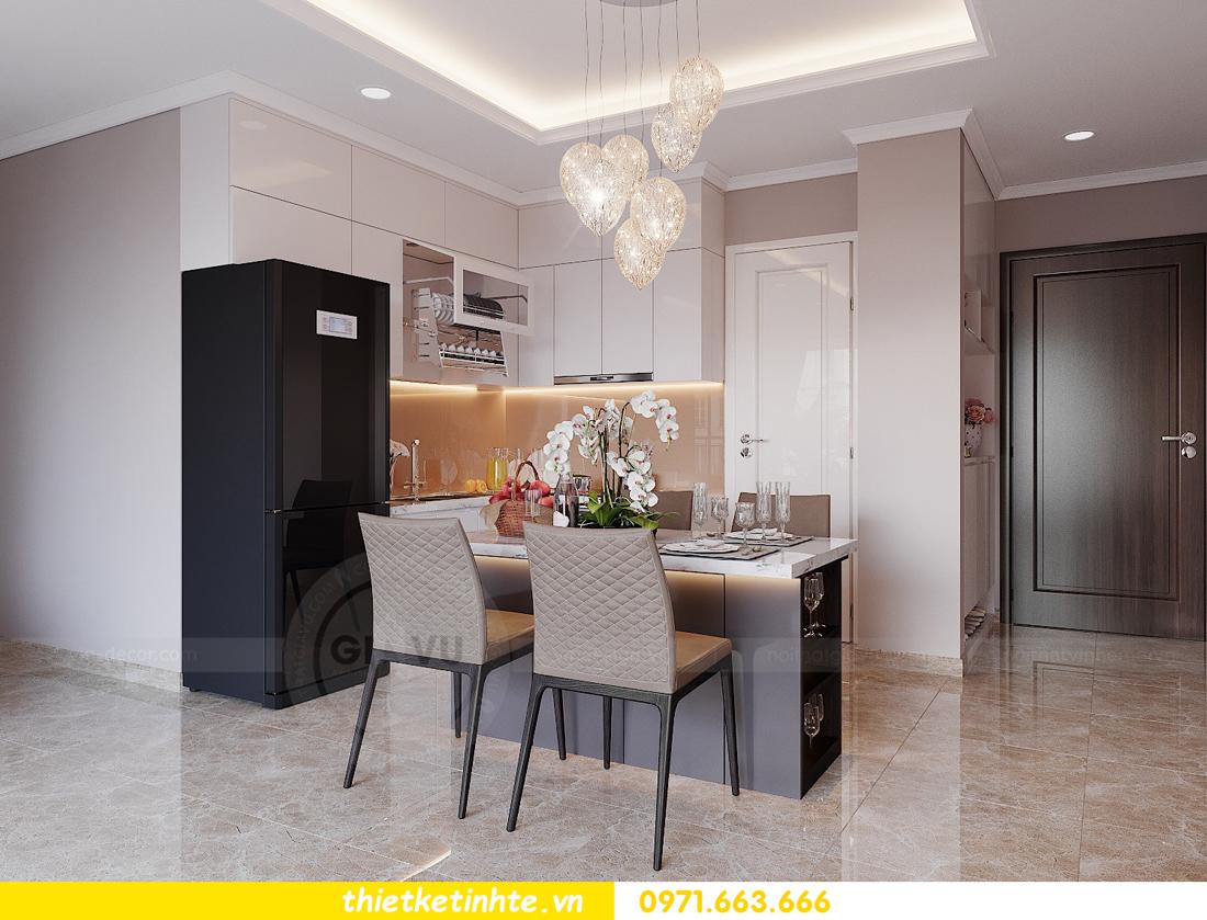 thiết kế nội thất Vinhomes DCapitale tòa C1 căn hộ 03 nhà anh Tĩnh 02