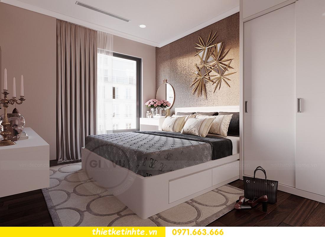 thiết kế nội thất Vinhomes DCapitale tòa C1 căn hộ 03 nhà anh Tĩnh 07