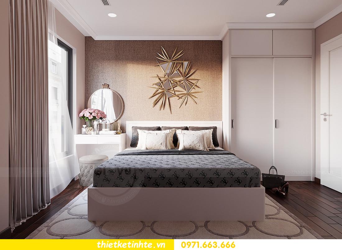 thiết kế nội thất Vinhomes DCapitale tòa C1 căn hộ 03 nhà anh Tĩnh 08