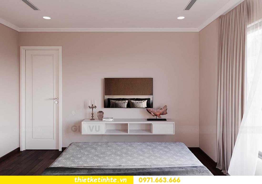 thiết kế nội thất Vinhomes DCapitale tòa C1 căn hộ 03 nhà anh Tĩnh 09