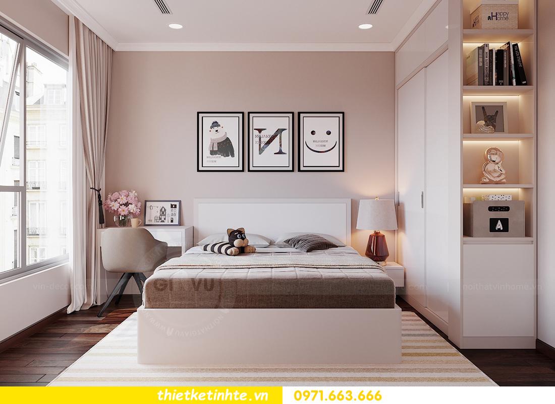 thiết kế nội thất Vinhomes DCapitale tòa C1 căn hộ 03 nhà anh Tĩnh 11