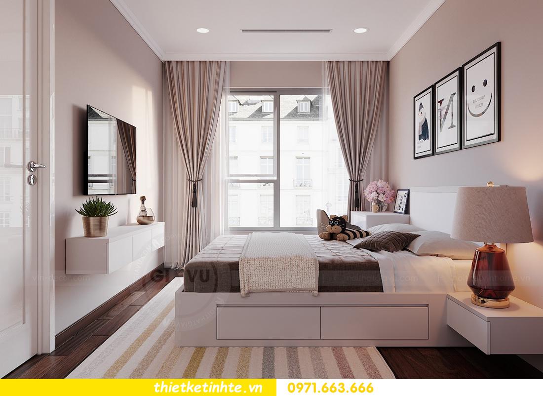 thiết kế nội thất Vinhomes DCapitale tòa C1 căn hộ 03 nhà anh Tĩnh 12