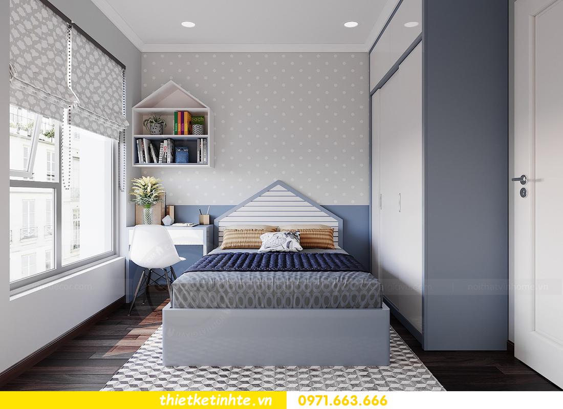 thiết kế nội thất Vinhomes DCapitale tòa C1 căn hộ 03 nhà anh Tĩnh 13