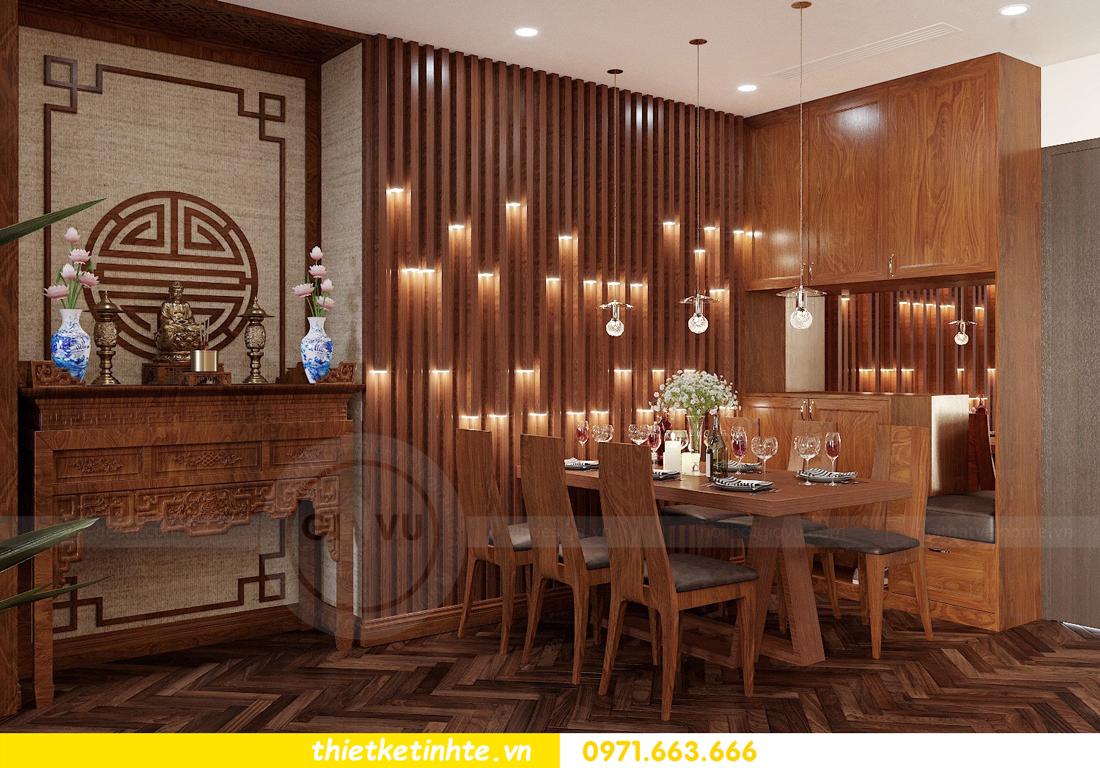 thiết kế thi công nội thất chung cư Metropolis tòa M3 căn 02 View1