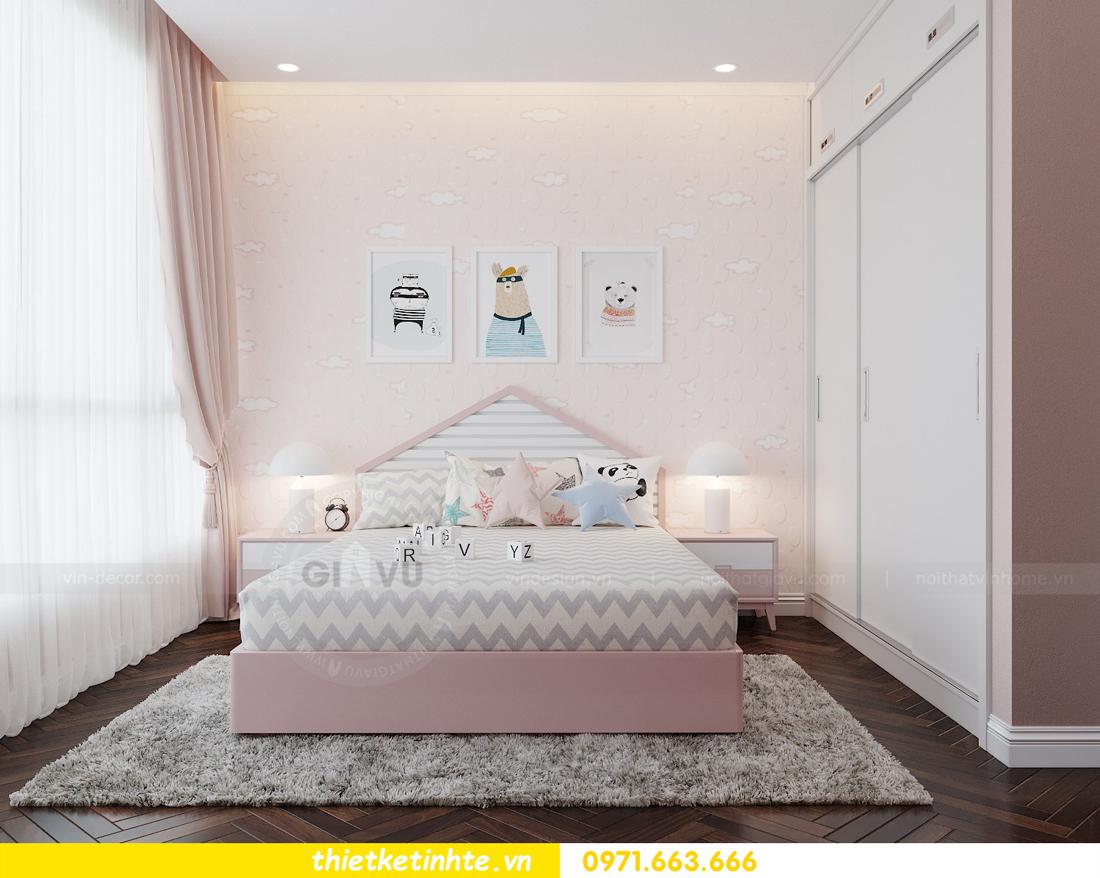 thiết kế thi công nội thất chung cư Metropolis tòa M3 căn 02 View10