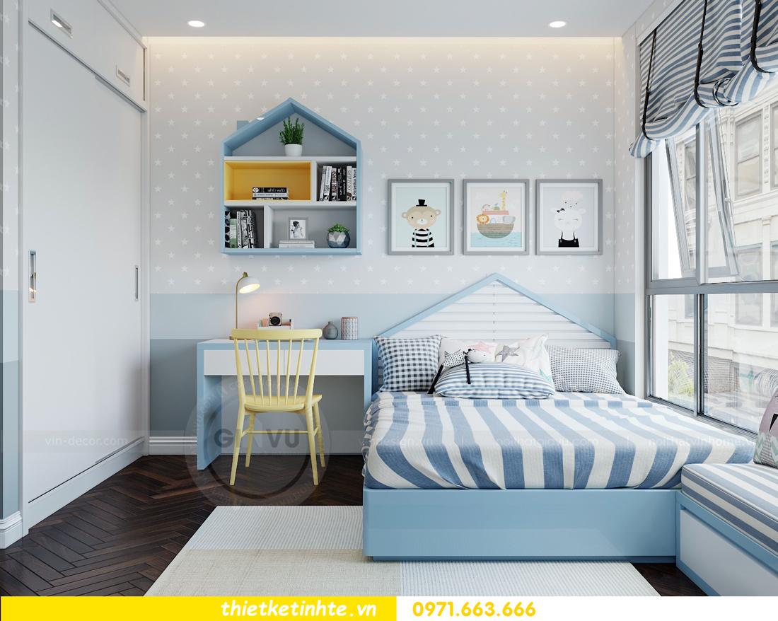 thiết kế thi công nội thất chung cư Metropolis tòa M3 căn 02 View12