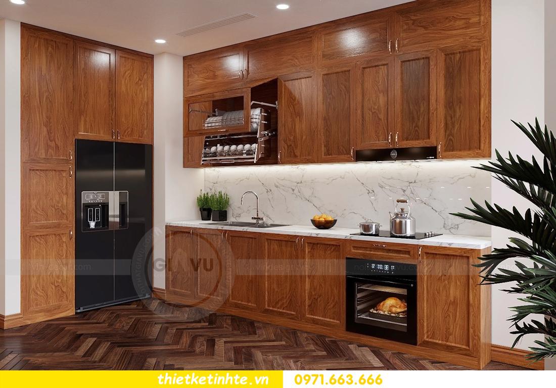 thiết kế thi công nội thất chung cư Metropolis tòa M3 căn 02 View2